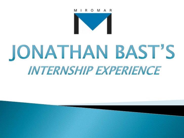 Marketing Internship - Final requirement