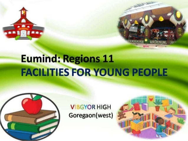 VHS_FACILITIES FOR YOUNG PEOPLE_RESEARCH WORK