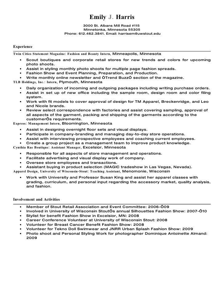 Alfa Img Showing Visual Merchandising Resume  Visual Merchandiser Resume