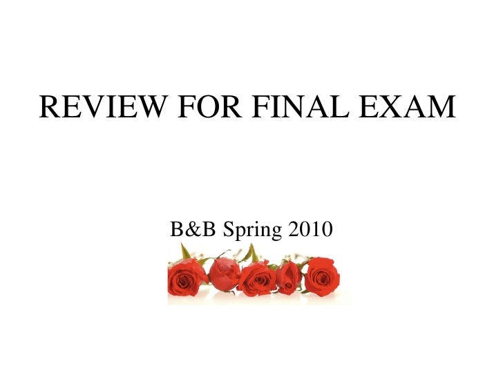 Final+review+bb+spring+10