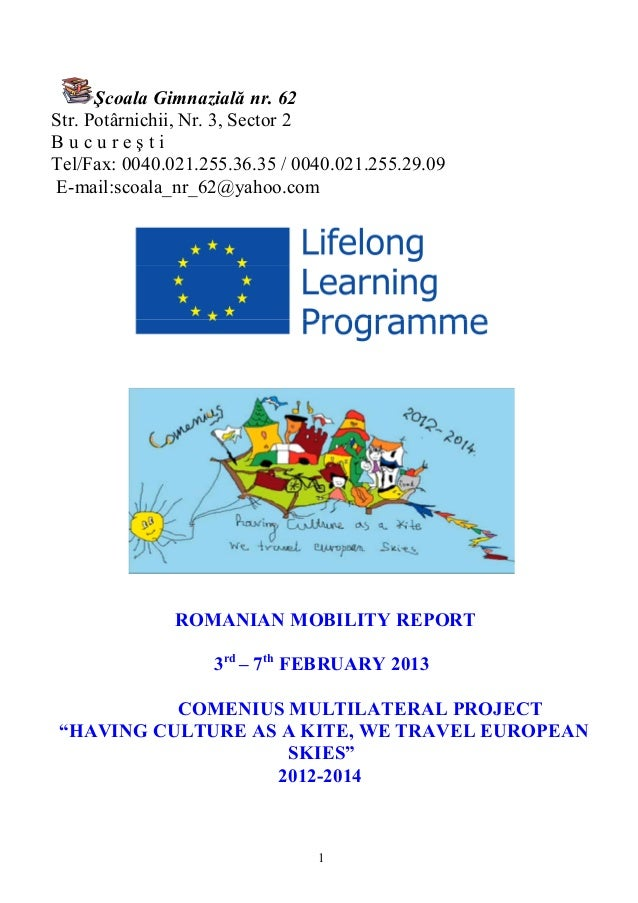 Final Romanian mobility report
