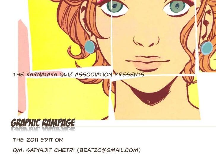 Graphic Rampage 2011 - Finals