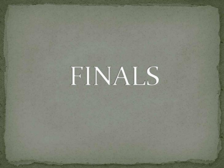 Qonfuse - Finals