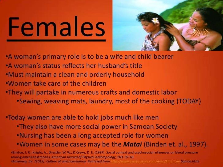 the similarities between the samoan culture hawaiian culture and the stereotypical american culture