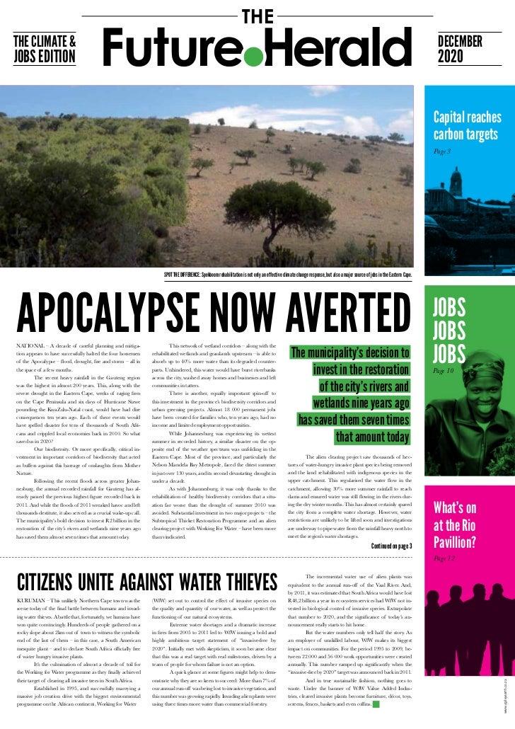The Future Herald COP17 Newspaper