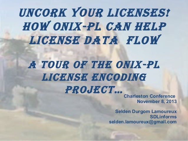 Uncork Your Licenses!