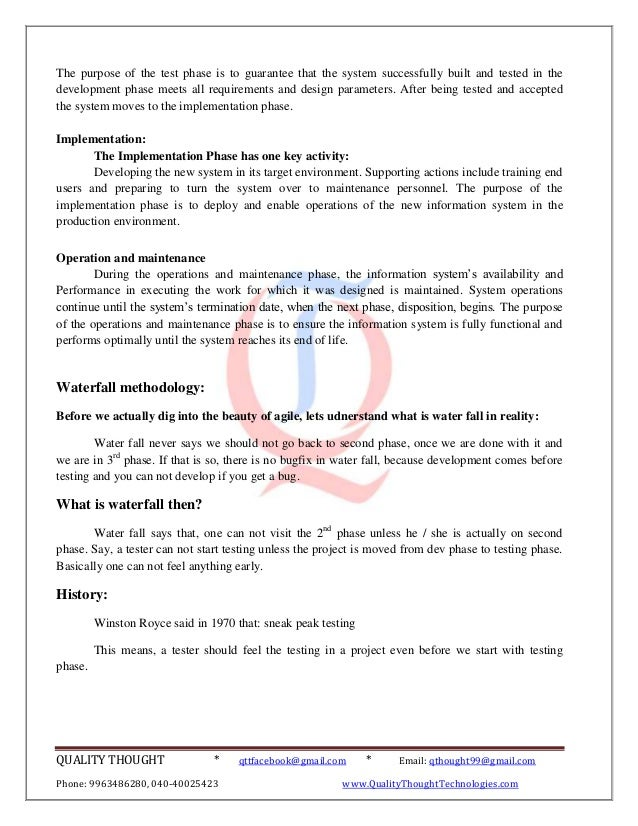 sdlc essay questions 2018-7-17 please contact info@us-certgov if you have any questions  secure software development life cycle  efforts specifically aimed at security in the sdlc.