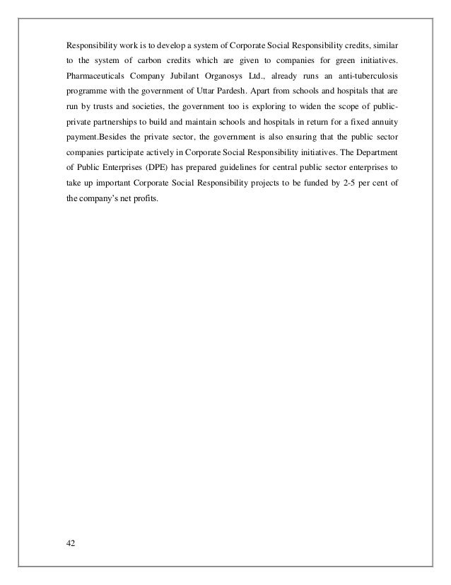 Ethics and social responsibility research papers