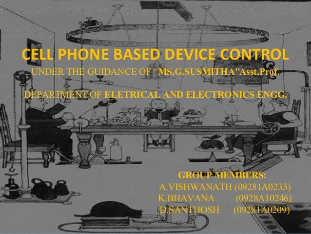 cell phone based device control