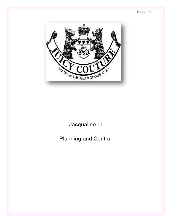 Jacqualine Li<br />Planning and Control<br />Part I<br />Customer Situational Analysis<br />-5715021590<br />Department Su...
