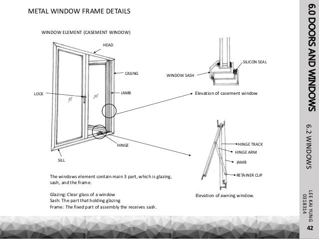 Steel Building Framing In Window : Building construction details