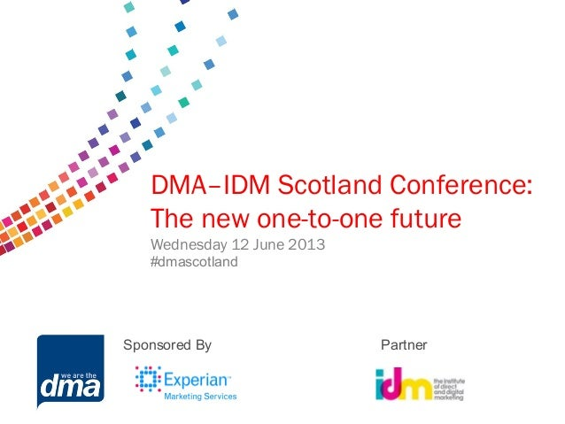 Final slides dma idm conference final