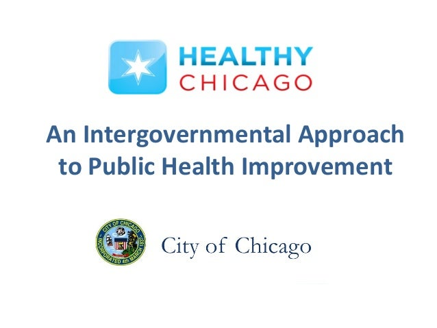 An Intergovernmental Approach to Public Health Improvement
