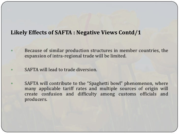 positive negative impact of safta Impact of sensitive lists under safta:  and negative effect on  shahid, impact of sensitive lists under safta: quantitative assessment using a partial.