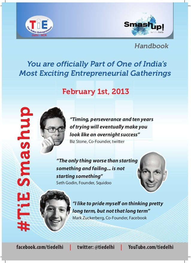 Handbook  You are officially Part of One of India's Most Exciting Entrepreneurial Gatherings                    February 1...