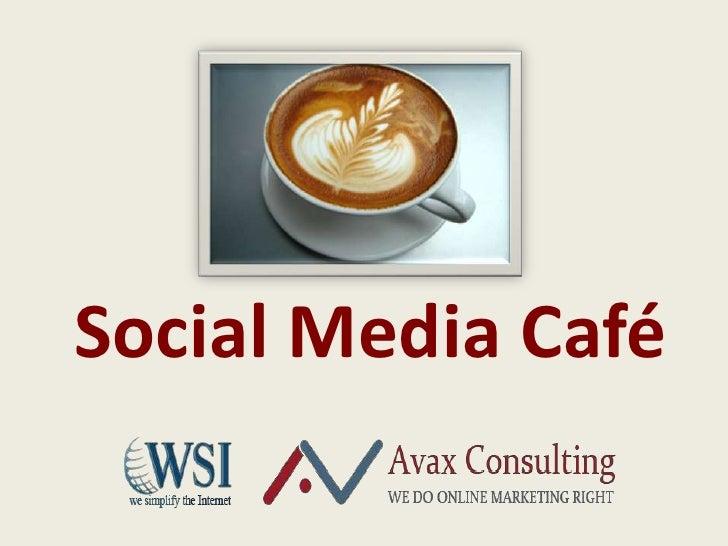 Social media cafe Concepts