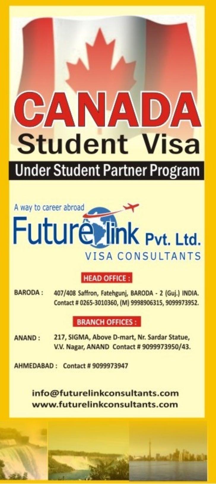 Futurelink Visa Consultants Pvt. Ltd - Student Partners Program -SPP Program Canada, Study in Canda