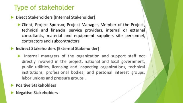 impact of stakeholder management in the construction industry Framework for stakeholder management in construction reference for stakeholder management in the construction industry (exploring the impact of stakeholder.