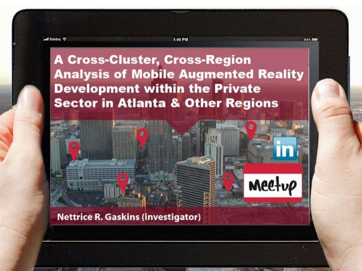Mobile Augmented Reality Development in the Private Sector