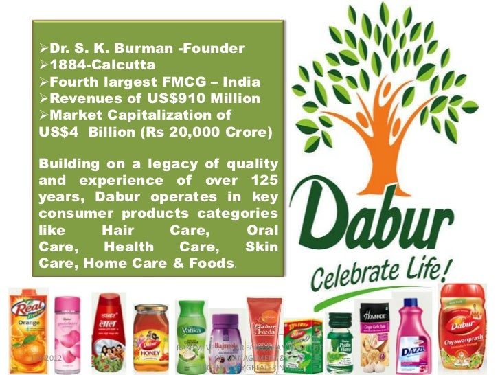 dabur india ltd suggestions or improvements Dabur india ltd is one of india's leading fmcg companies with revenues of over rs 7,680 crore & market capitalization of over rs 48,800 crore building on a legacy of quality and experience of over 133 years, dabur is today india's most trusted name and the world's largest ayurvedic and natural health care company.