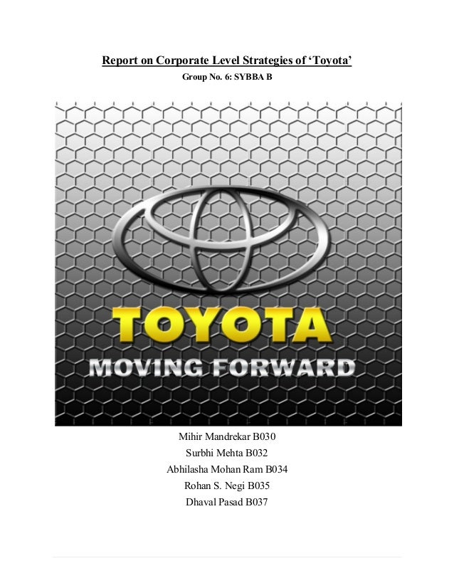 toyota case study strategic management