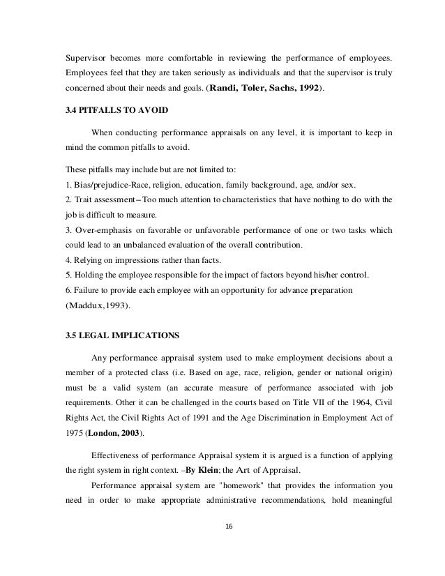 an internship report on performance appraisal Department of media, culture, and communication student evaluation form page 1 of 2 student evaluation of internship this form is to be filled out and turned in at a mid-semester internship workshop.