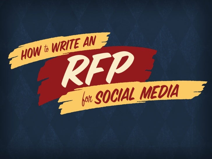 How to Write an RFP for Social Media