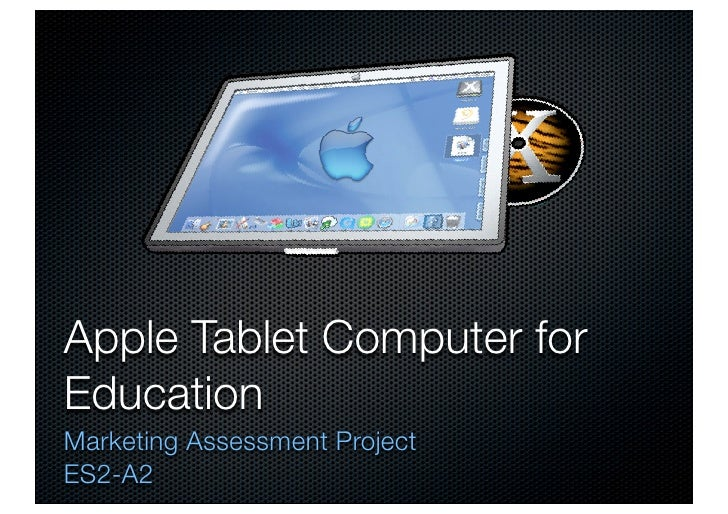 Tablet Computer for Education - HEC MBA Marketing Project