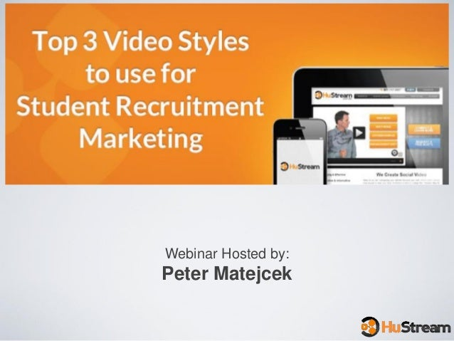 Top 3 Video Styles to Use For Student Recruitment Marketing