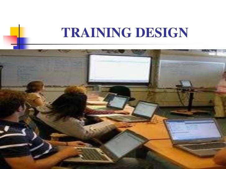 Final training design