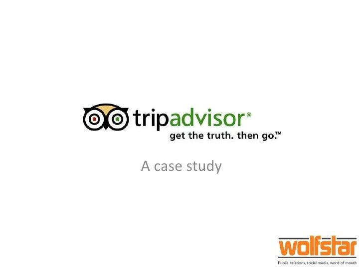 Wolfstar's Trip Advisor presentation for the Mersey Partnerhsip