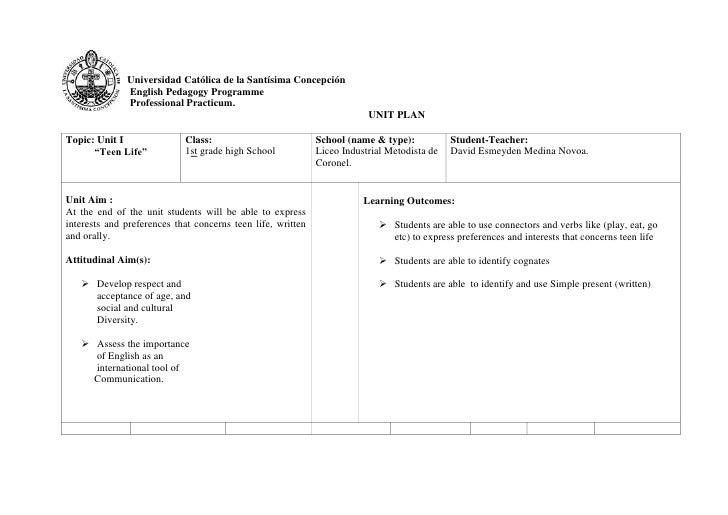 Final unit plan lim 1st grade C and D