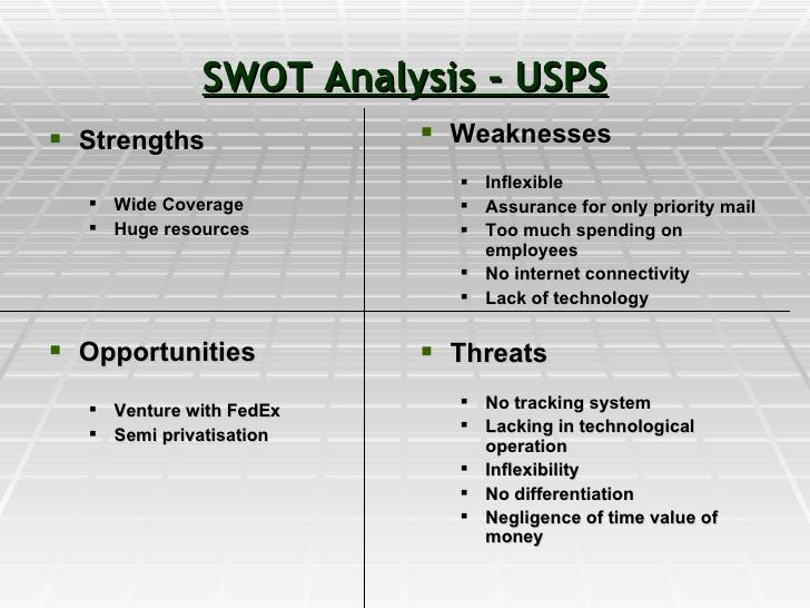 swot analysis fed ex