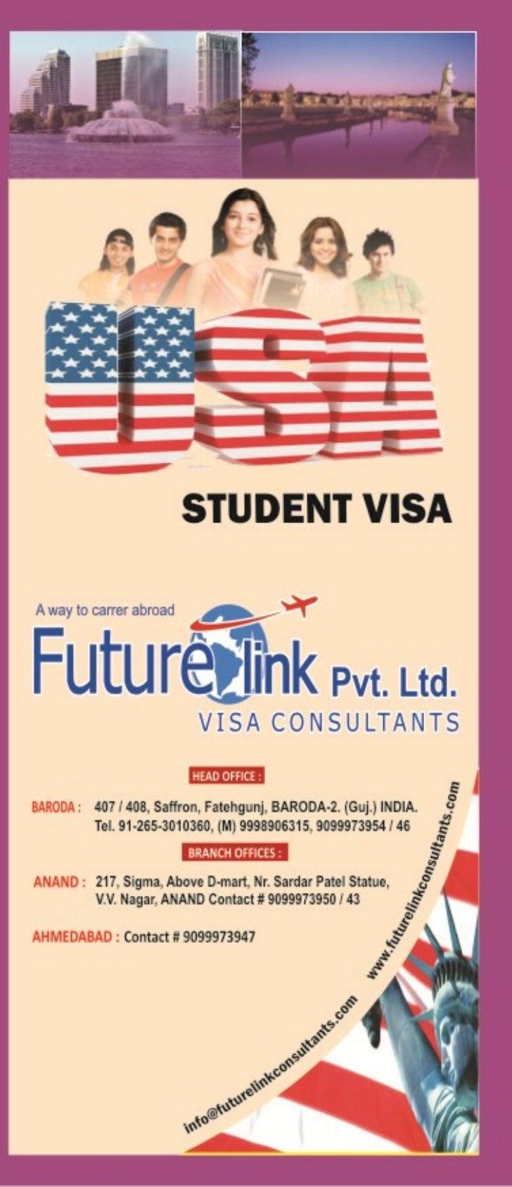 Study in USA, Work in USA, Study Visa USA, Visitor Visa USA, USA Student Visa at http://www.futurelinkconsultants.com/