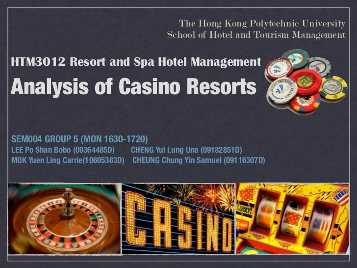 The Hong Kong Polytechnic University                                         School of Hotel and Tourism ManagementHTM3012...