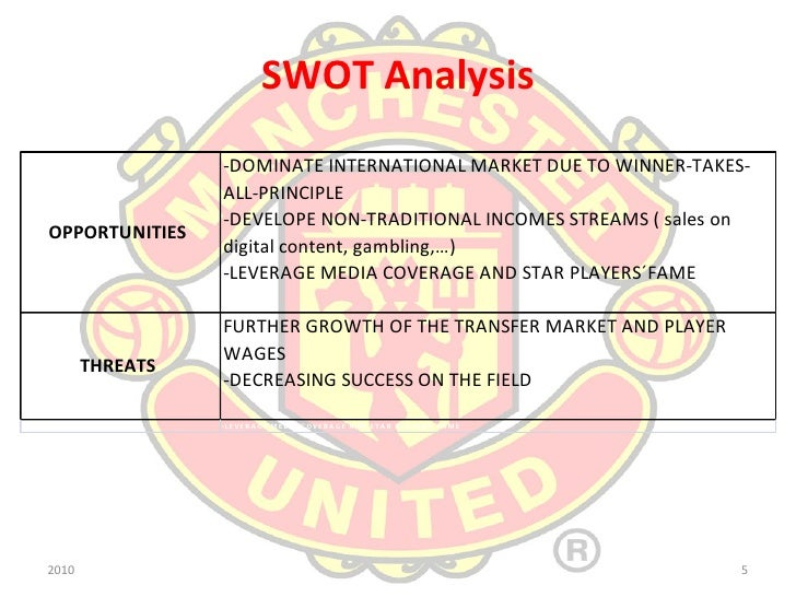 pestle analysis for manchester united Stakeholders in manchester united freeman's 'strategic management: a stakeholder approach' challenged idea that organisations are only responsible to shareholders and that profit-maximisation is the only aim of business.