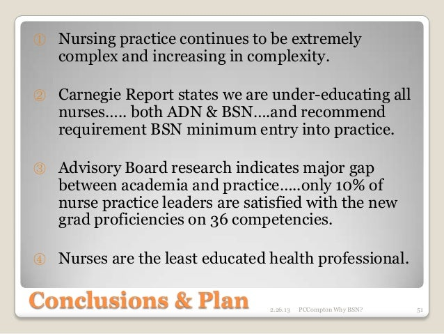 the competencies between bsn and adn nurses essay Differences in competencies between nurses prepared at the adn essay sample published by admin on january 23, 2018 differences in competences between nurses prepared at the adn degree versus the bsn the field of nursing is altering every twenty-four hours and has dramatically changed since florence nightingale foremost pushed for more.