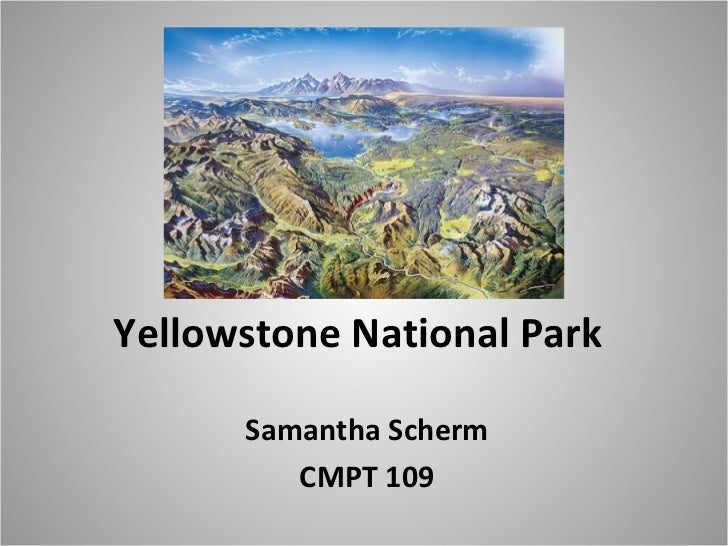 Final yellowstone national park
