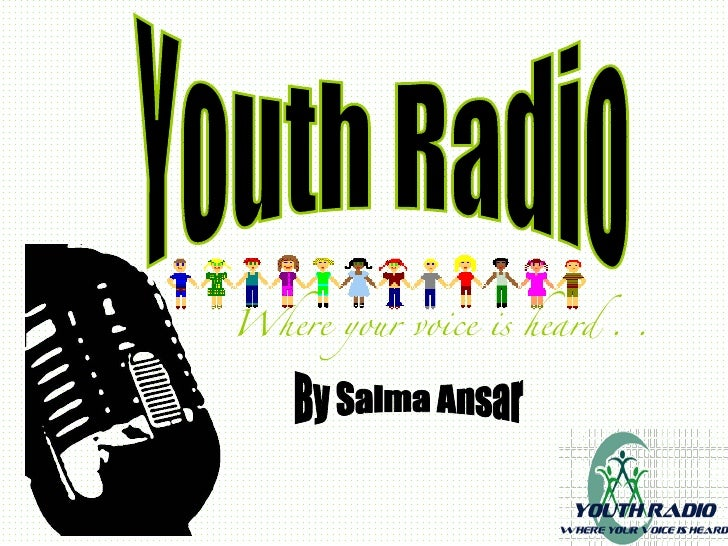 Youth radio powerpoint