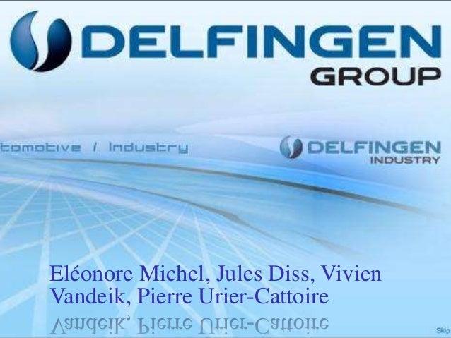 Financial Analysis Delfingen
