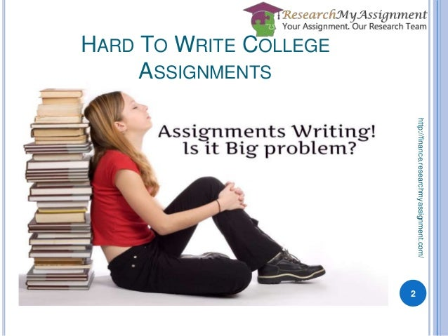 college essay writing assignment