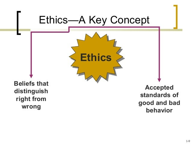 key concepts of ethics Ethical standards of human service professionals (1996) submitted by kbl781 on mon, 10/24/2011 - 16:15 tweet organization: national organization for human services.