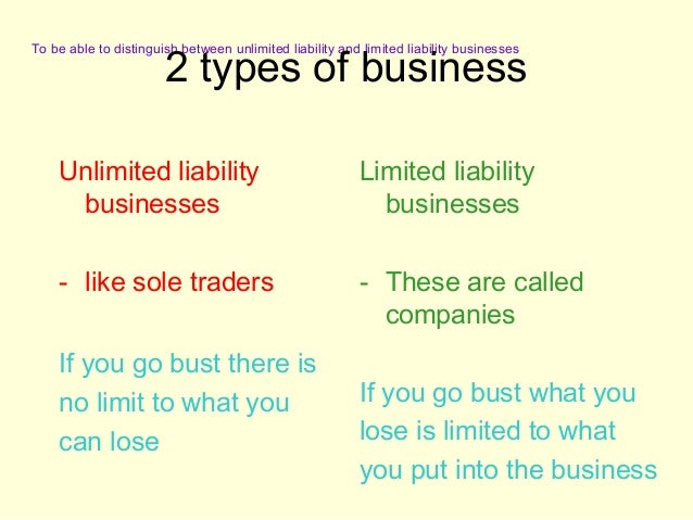 sole trader vs private limited company Understand the difference between a sole trader and a  private companies  check out our what could i be personally liable for as a sole trader vs company.