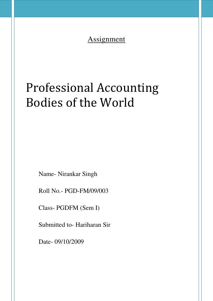 Financial Bodies of the World
