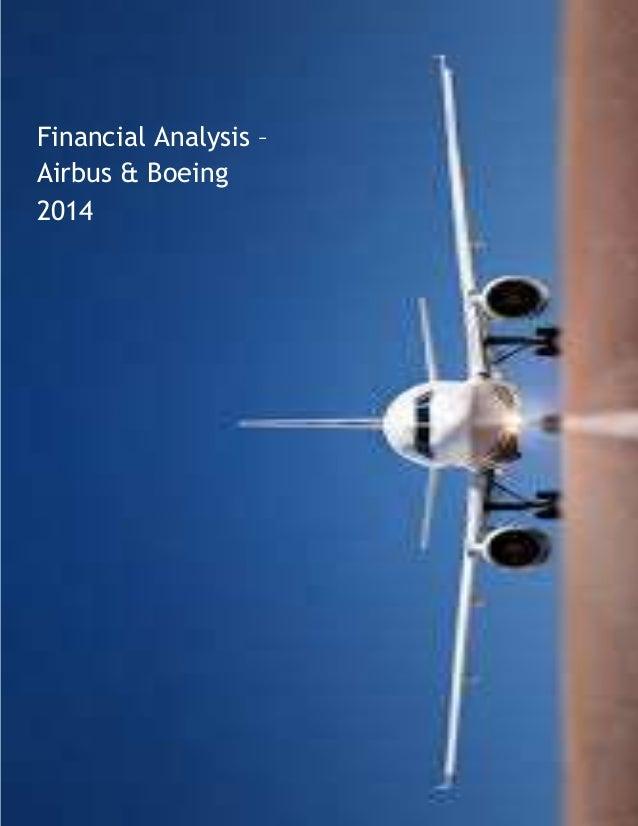 Financial Analysis boeing airbus