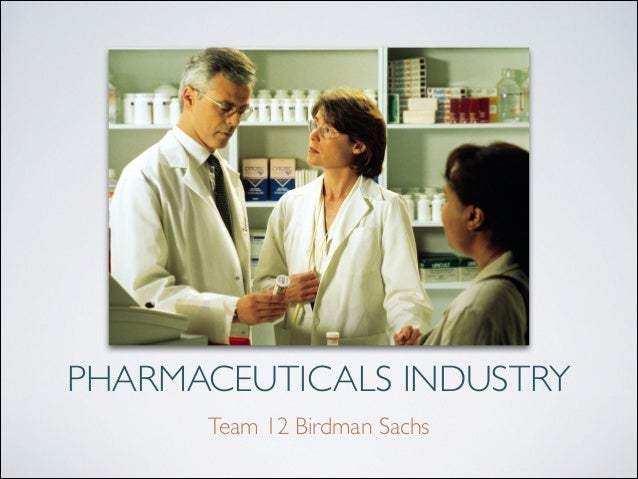 A Financial Review: Pharmaceuticals Industry