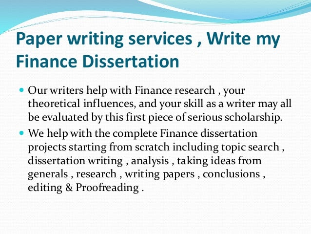 Examples of MBA Research Papers