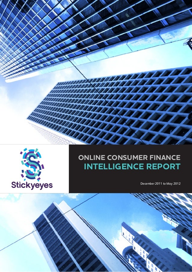 Market Intelligence Report: Consumer Finance (Exec Summary)