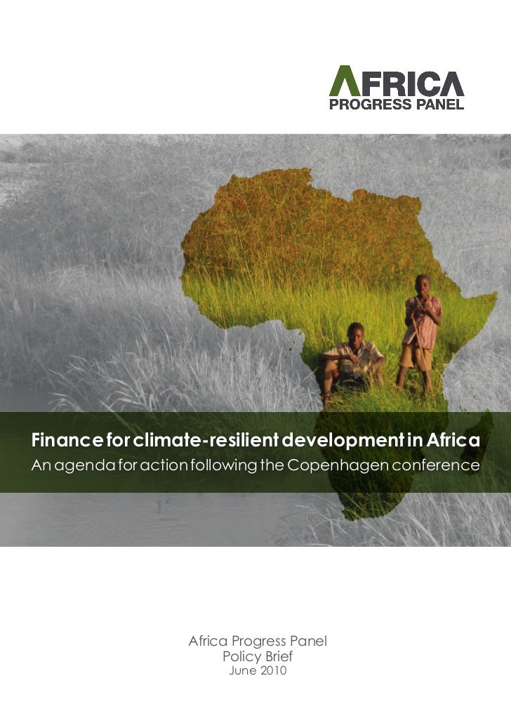 Finance for climate_resilient_development