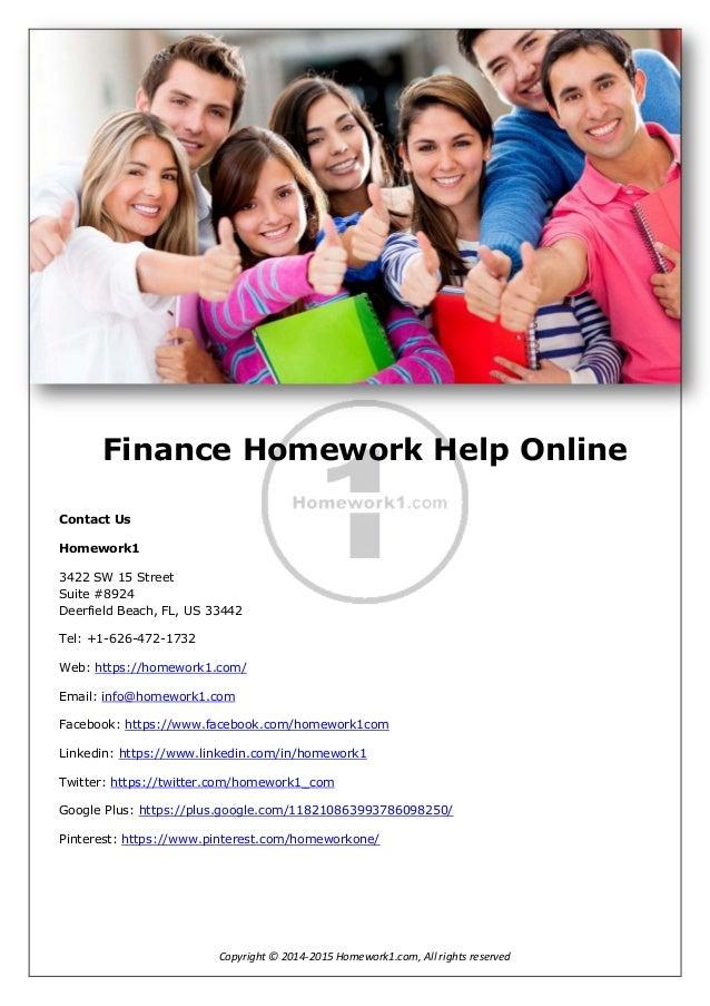 finance 3050 homework 10